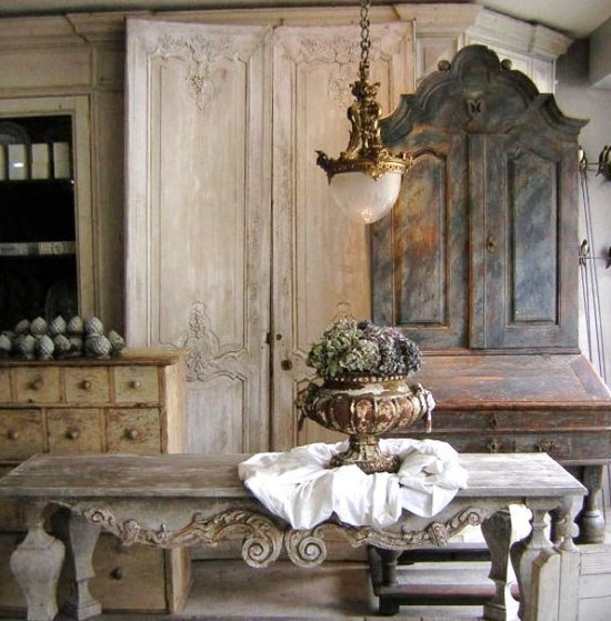 Vintage french interior design home design blog for Vintage home decor