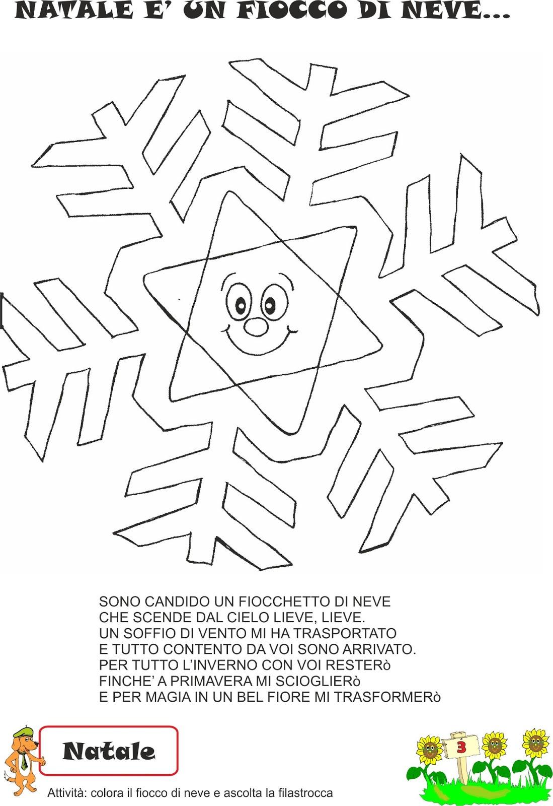Favorito A Scuola con Poldo: Schede didattiche inverno ER65
