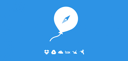Ballloon Upload remoto para Google Drive, Dropbox e OneDrive