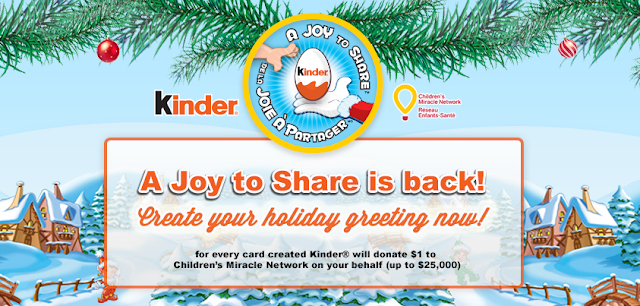Kinder Canada A Joy to Share #spon