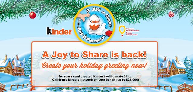 Kinder Canada A Joy to Share #spon