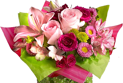 Image of a bouquet of flowers