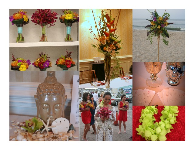 Isha Foss Events, Tropical, Indonesian Wedding Decor