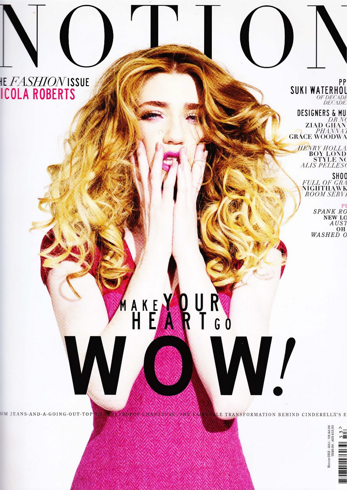 The Nicola Roberts cover I STYLED WAHOOOO!