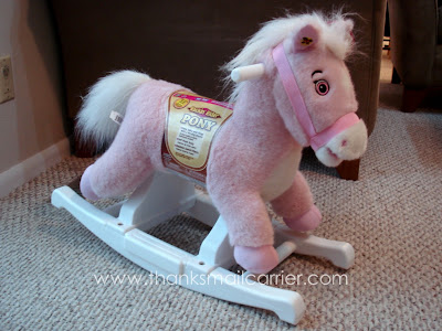 Rockin Rider Plush Pony review