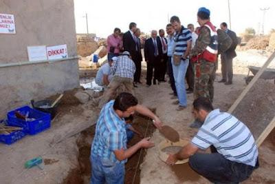 define çalışmasında gömünün bulunma anı