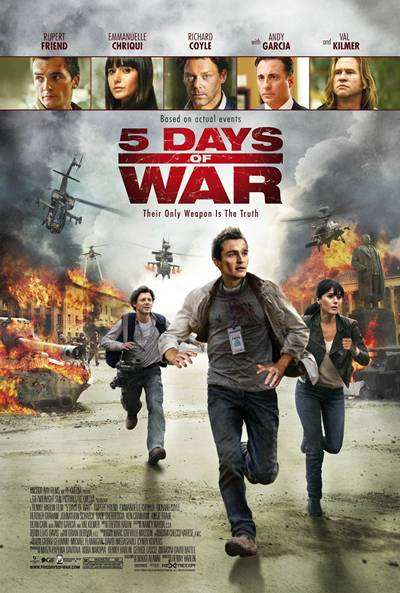 5 Days of War [5 Dias de Guerra] 2011 DVDR Menu Full Español Latino ISO NTSC