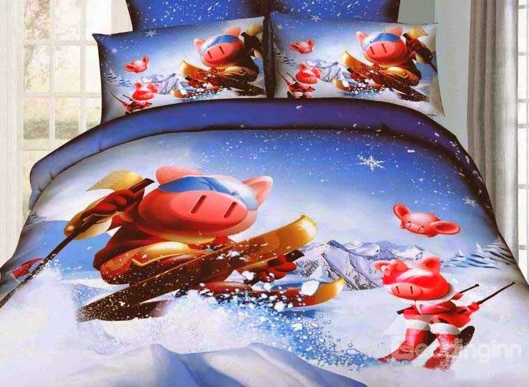 http://www.beddinginn.com/product/New-Arrival-Lovely-Skiing-Cartoon-Pigs-4-Piece-Bedding-Sets-10872523.html
