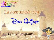 La acentuación con D. Quijote