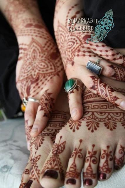 Henna en manos y pies, http://distopiamod.blogspot.com.es