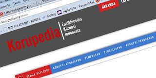 """Ini Dia Situs Unik """"Korupedia"""" ,data lengkap KORUPTOR Indonesia"""