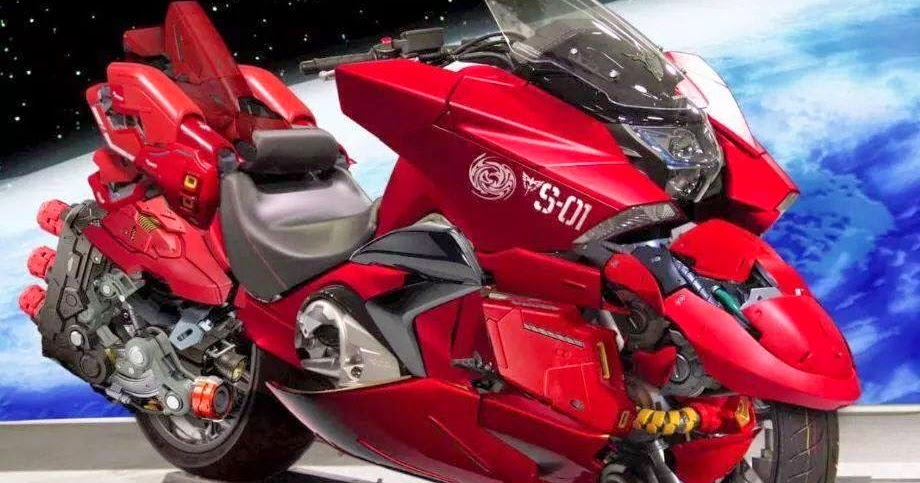 GUNDAM GUY: HONDA NM4 Vultus X Char Aznable Motocycle ...