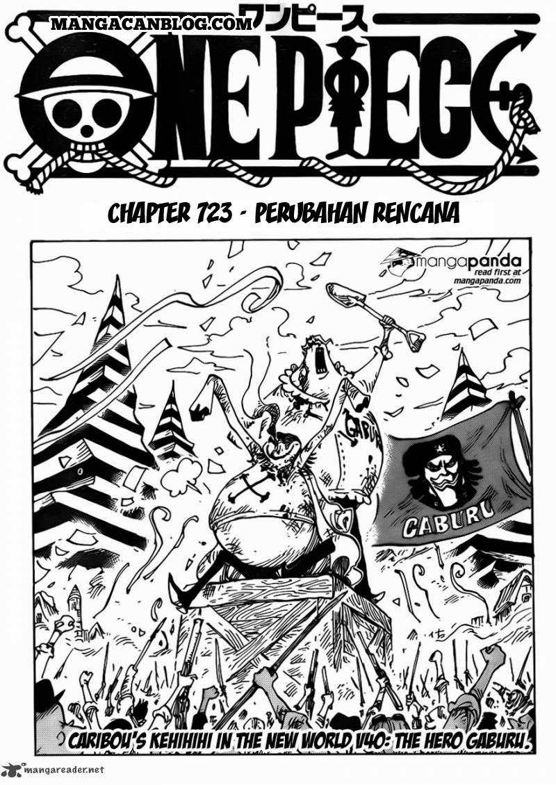 Dilarang COPAS - situs resmi www.mangacanblog.com - Komik one piece 723 - perubahan rencana 724 Indonesia one piece 723 - perubahan rencana Terbaru 0|Baca Manga Komik Indonesia|Mangacan