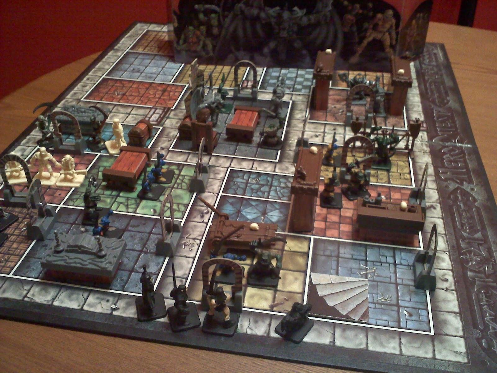 Corbania prime barrels and boxes everywhere - Dungeon gioco da tavolo ...