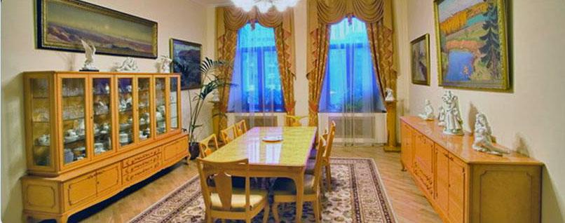 Фото зал для переговоров в мягких тонах