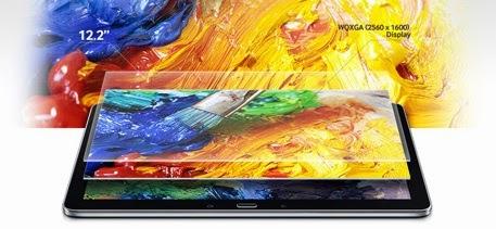 Samsung Galaxy Note Pro 12.2 Tablet KitKat Harga 10 Jutaan