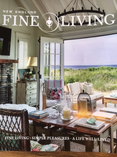 Featured In New England Fine Living Magazine Summer 2017 Issue