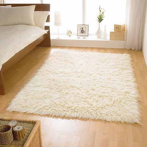 White Area Rugs