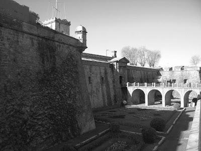 Castle of Montjuic in Barcelona