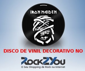 ROCK2YOU - DISCO DE VINIL DECORATIVO