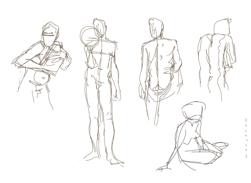 stefan's sketch blog: More life drawing on the iPad