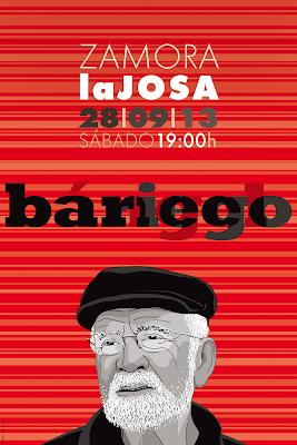 Cartel. Homenaje a Ángel Bariego
