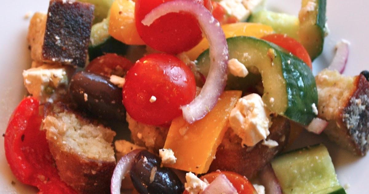 My Kitchen And Food Adventures Greek Panzanella