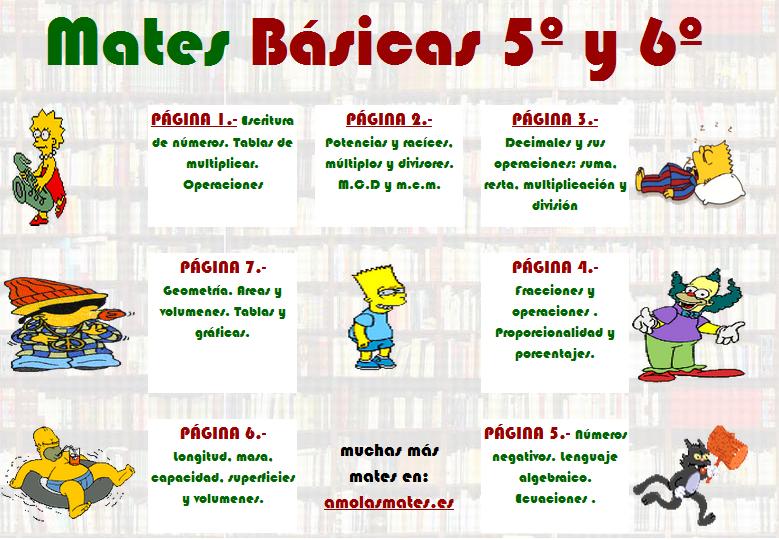 MATEMÁTICA BÁSICA 5° y 6°