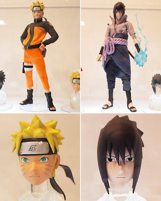 RAH Naruto Shippuden - RAH Naruto Uzumaki and RAH Sasuke Uchiha