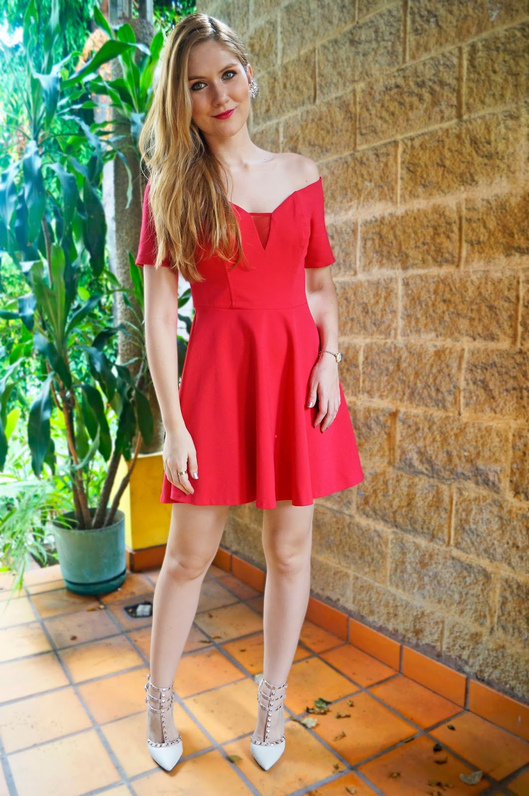 Red Dress by Guess