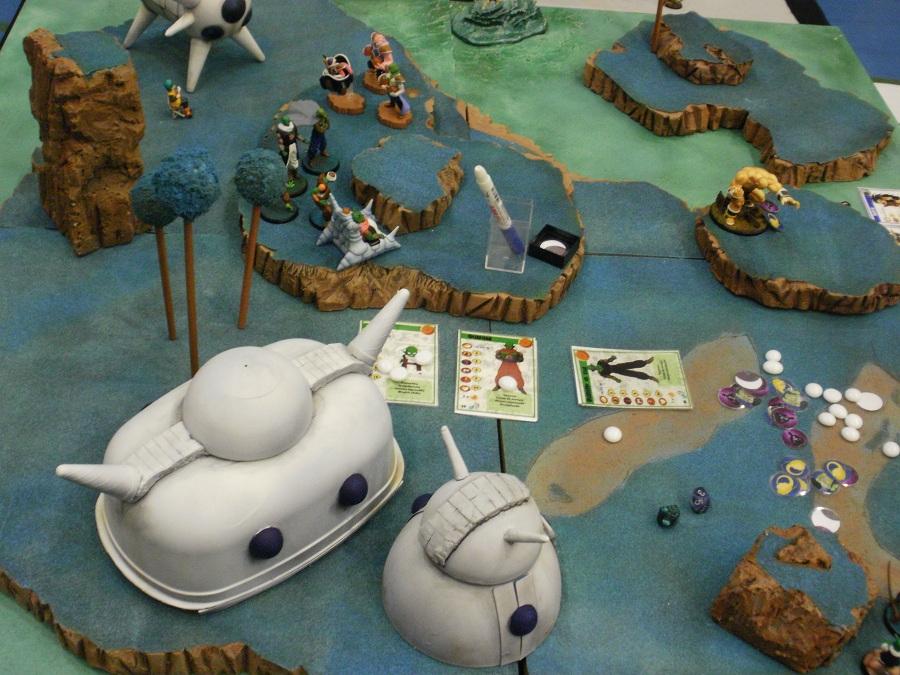 Dragon Ball Melee estará en las Hispania Wargames! P4290179
