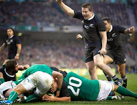 rugby, try, Ireland, New Zealand, All Blacks, Ben Franks,