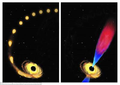 Wow Banget! NASA Tangkap Penampakan Black Hole `Menelan` Bintang