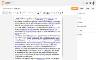 Cara Membuat Blog Gratis dengan blogger Terbaru 2015 update
