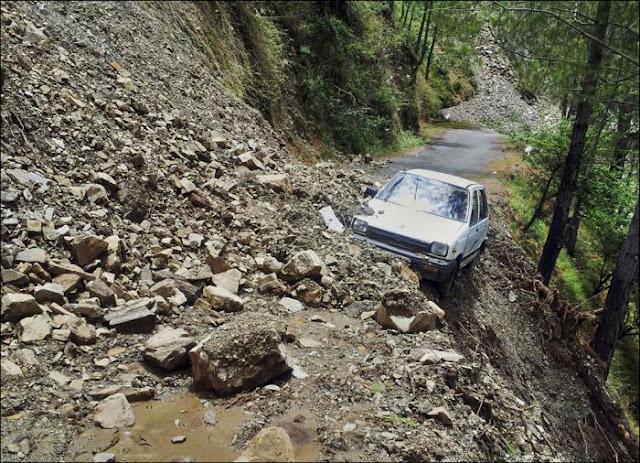 flood ravaged uttarkand