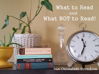 Country Fair Blog Party Blue Ribbon Winner - Devastate Boredom: What to Read and Not to Read