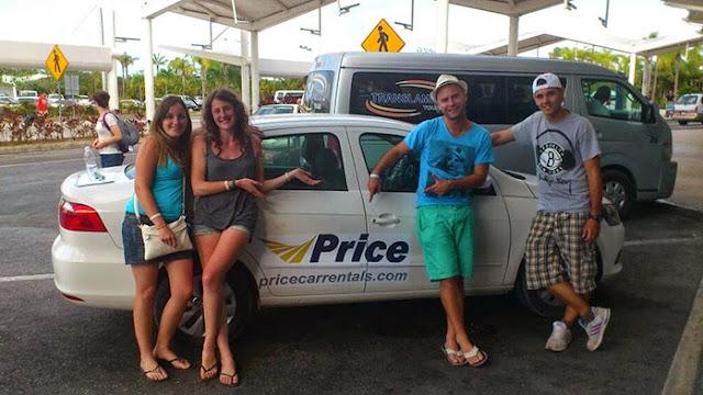Price Cars compañia de alquiler Tulum