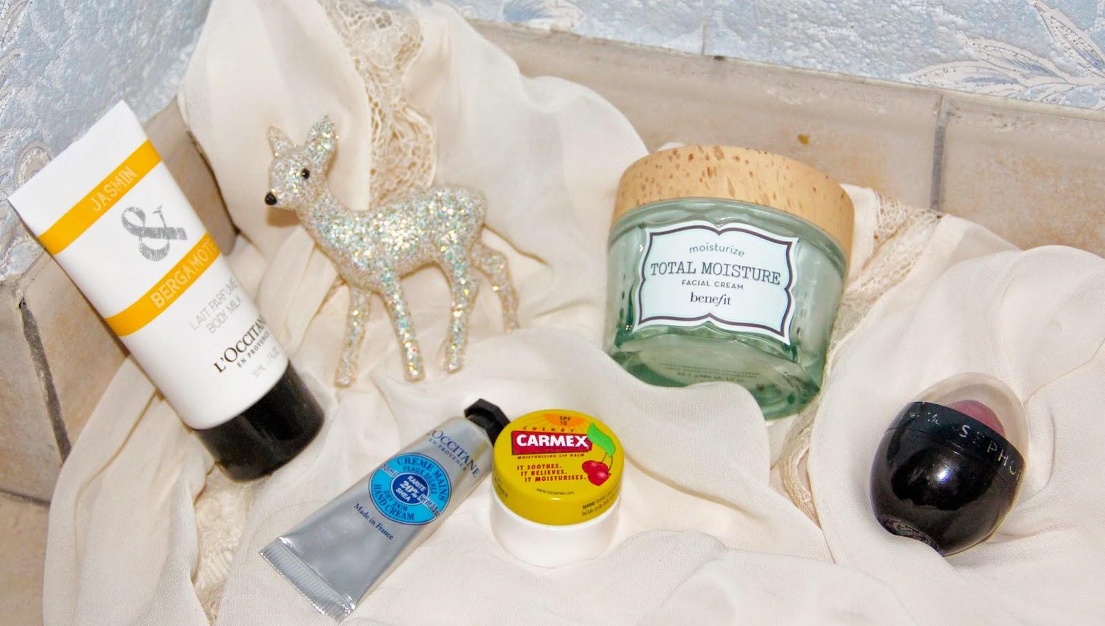 occitane, sephora, benefit noel