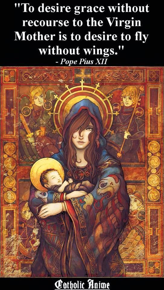 カトリックのアニメ