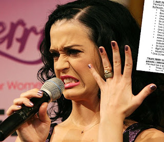 Katy Perry's hands!
