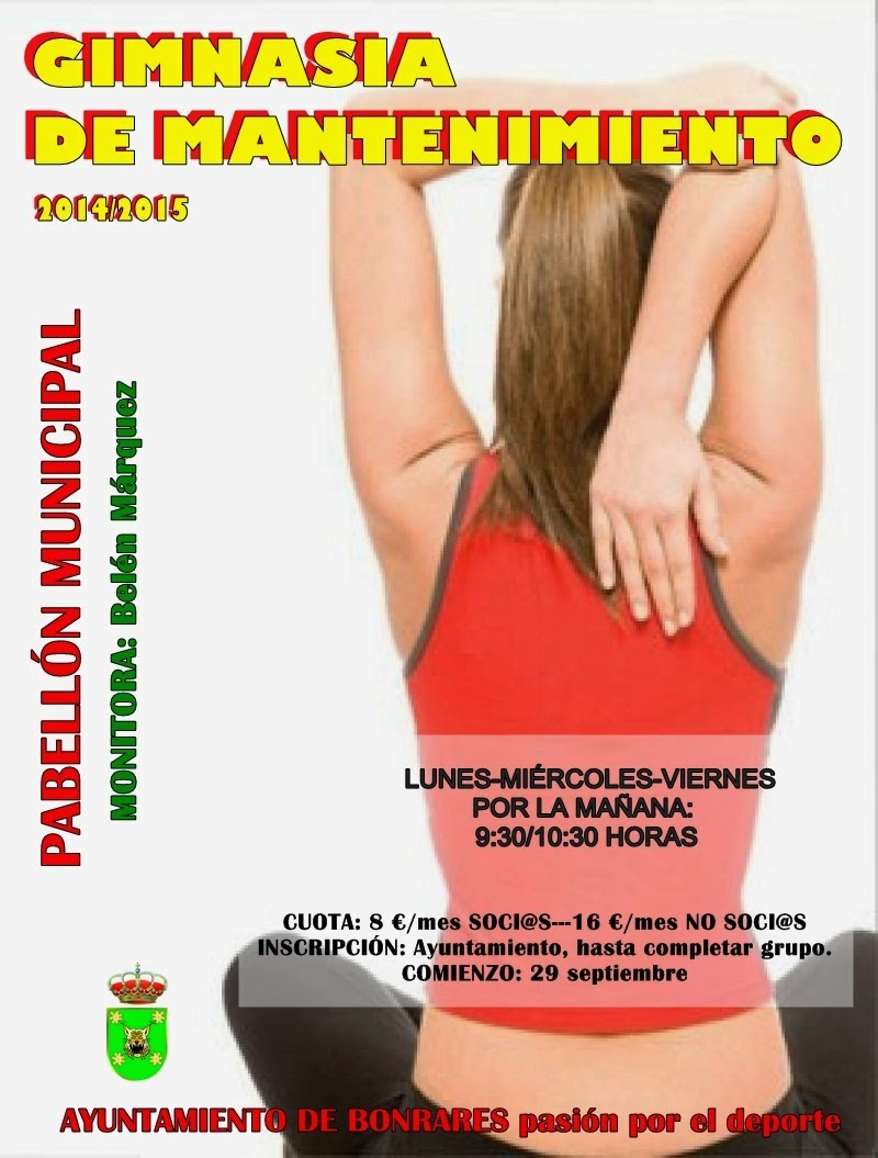 GIMNASIA MANTENIMIENTO 2014-15