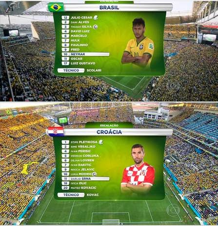 Brasil x Croacia Copa do Mundo HD 720p
