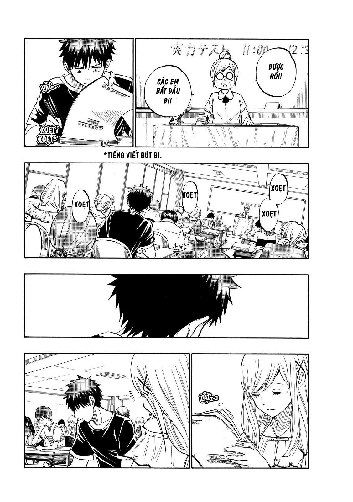 Yamada kun to 7 nin no Majo Chap 227 - Trang 8