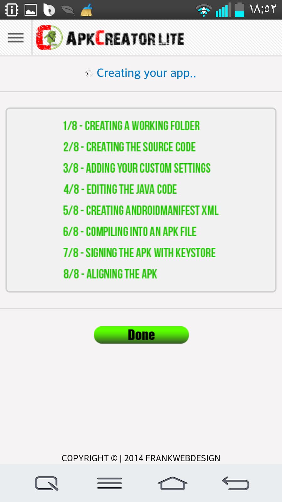 كيفية عمل تطبيق لموقعك على الاندرويد بأسهل طريقة والافضل على الاطلاق Screenshot_2014-02-07-18-53-00