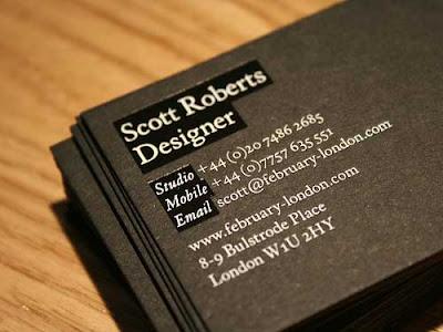 30 excelentes tarjetas personales minimalista