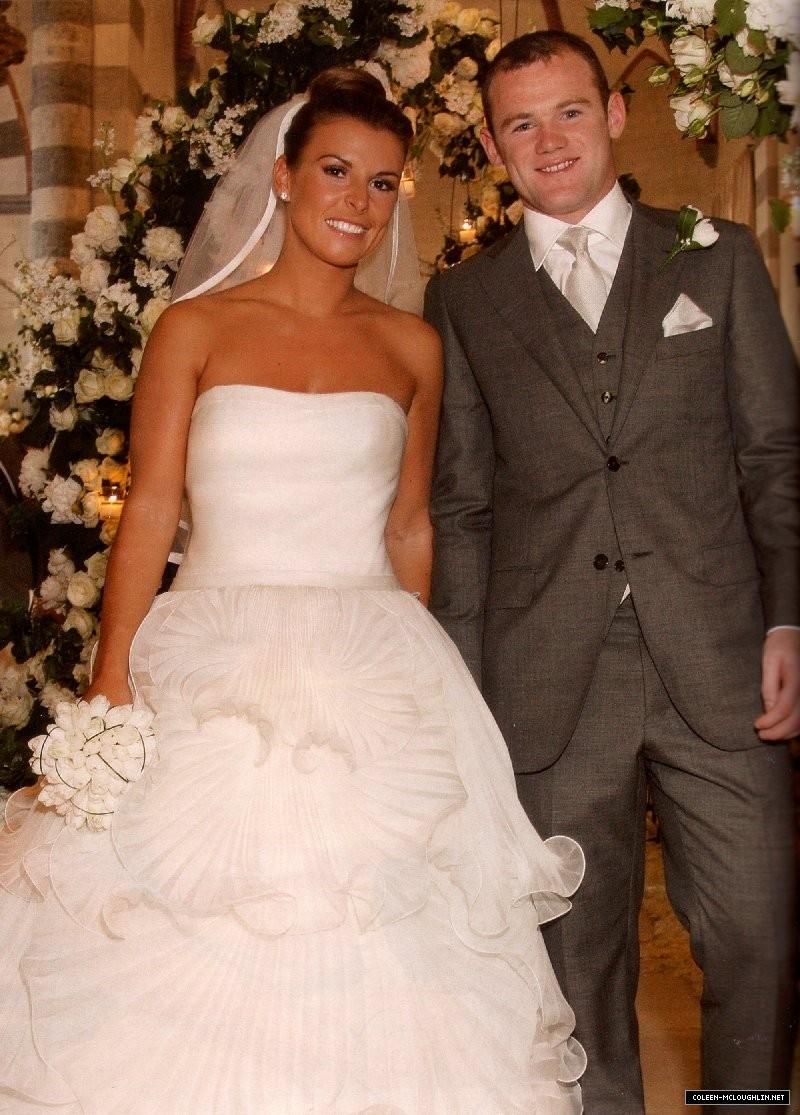 Wayne Rooney Wedding Wayne and Coleen Rooney Red Carpet Wedding