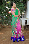 Actress Anjali Rao in Half Saree-thumbnail-17