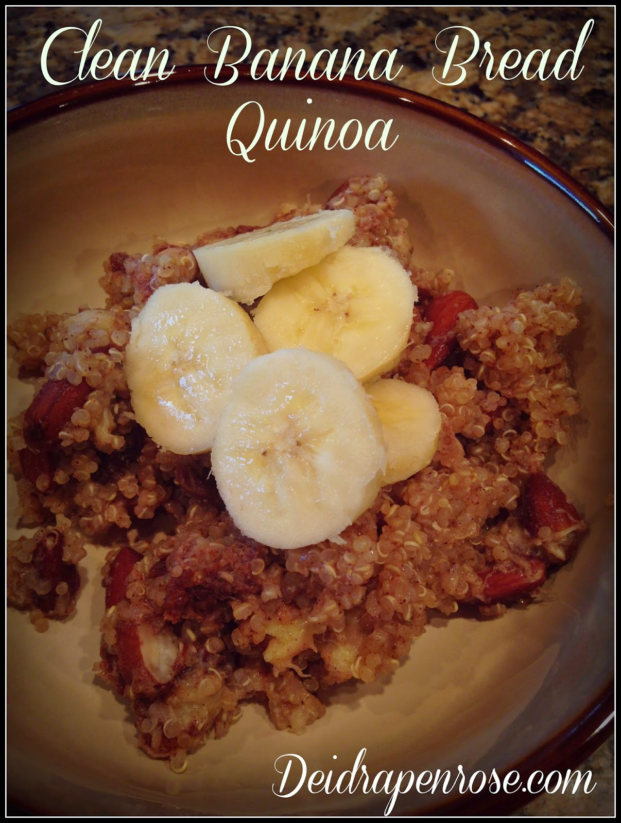 deidra Penrose, clean eating breakfast recipes, banana nut bread, almonds, quinoa, healthy banana bread quinoa, weight loss recipes, NPC figure competitor, easy breakfast recipes,  fitness journey, accountability, power breakfast, top beachbody coach harrisburg, healthy mom, new mom,  healthy nurse and mom, successful fitness coach, nutrition