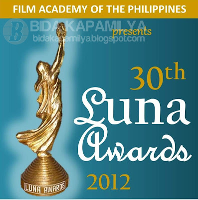 30th Luna Awards 2012 Complete list of Winners