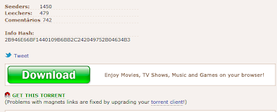 link de torrent piratebay de volta